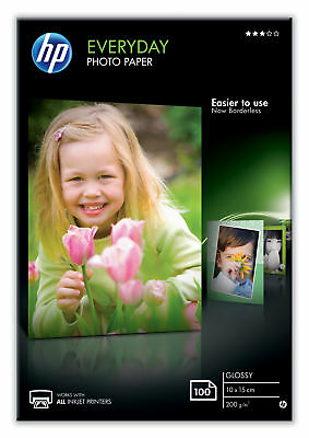 - HP Everyday Glossy Photo Paper 10x15cm - 100 Sheets