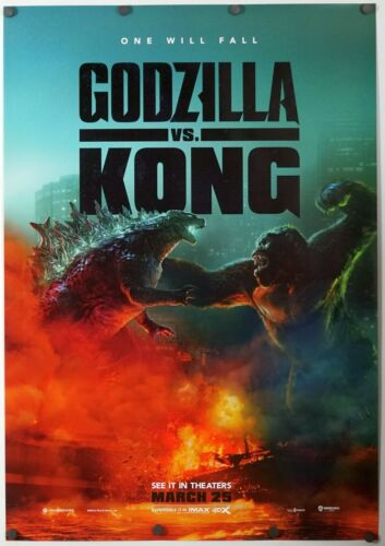 Godzilla Vs Kong - original DS movie poster 27x40 D/S - INTL A 2021