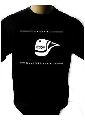 Express-black Rock (KRAFTWERK Trans Europe Express Black T-shirt Men Shirt Rock Band Tee Music)