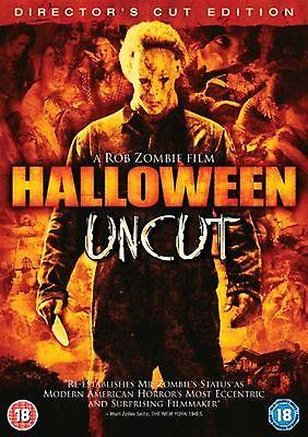 HALLOWEEN PART 1 -DIRECTORS CUT UNCUT EDITION Jamie Lee Curtis Rob Zombie UK DVD