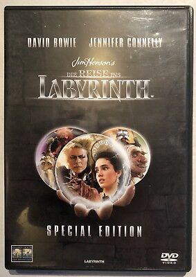Usado, Labyrinth Special Edition - David Bowie, Jennifer  Connelly (DVD, 2004) comprar usado  Enviando para Brazil