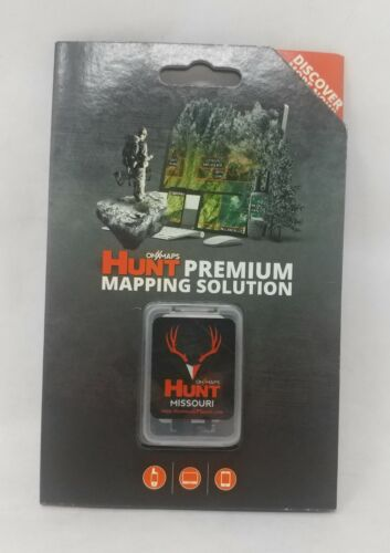 onXmaps HUNT GPS Chip for Garmin Units+1Year Premium Membership, Missouri 208995