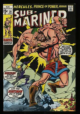 Sub-Mariner #29 VF- 7.5 Marvel Comics
