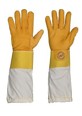 Humble Bee 113 Cow Leather Beekeeping Gloves with Reinforced Cuffs