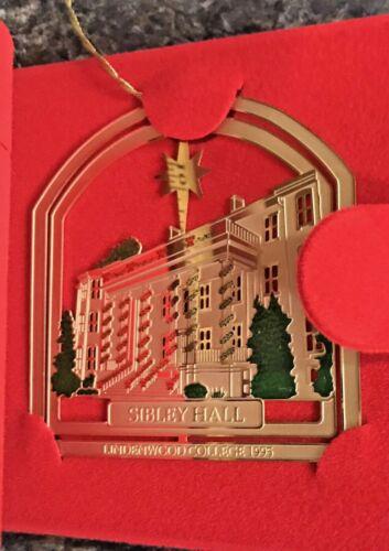 Lindenwood College (University) 1995 Christmas Ornament Sibley Hall
