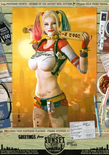 Harley Quinn SEXY Suicide Squad DC