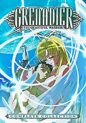 Grenadier The Beautiful Warrior Complete Collection Anime  3 Dvd Lite Box Set