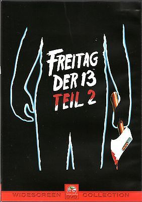 Friday the 13. Part 2 , Freitag der 13. Teil 2 , 100% uncut , Erstauflage (Halloween 2 1981 Uncut Dvd)