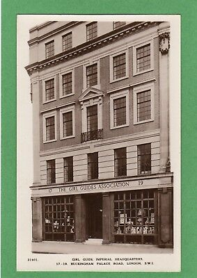 Girl Guides Association Imperial HQ Buckingham Palace Road London RP pc Ref F991