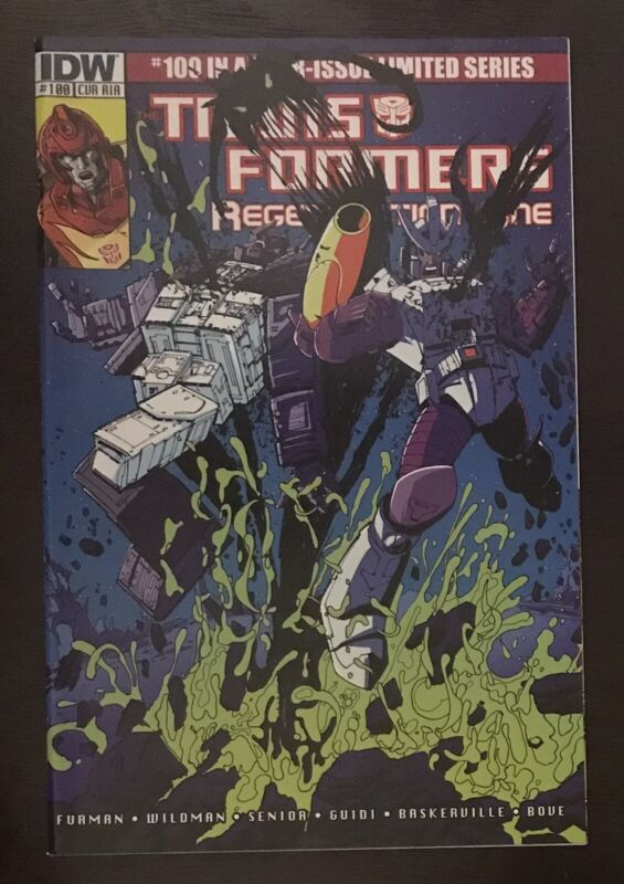 Transformers Generation One 2012 #100 IDW Variant Comic Book Retailer Incentive