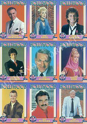 HOLLYWOOD WALK OF FAME 1991 STARLINE COMPLETE BASE CARD SET OF 250 MOVIE