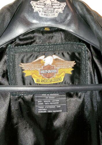 Harley Davidson Leather Jacket - Mens Size XL