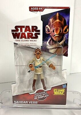 Nahdar Vebb Star Wars The Clone Wars MOC Mail Away Exclusive Jedi NICE! Ackbar