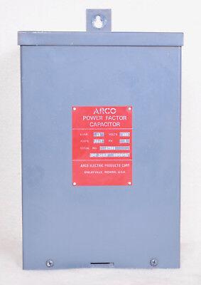 Arco Power Factor Capacitor Kvar 18 Catalog Number I4818
