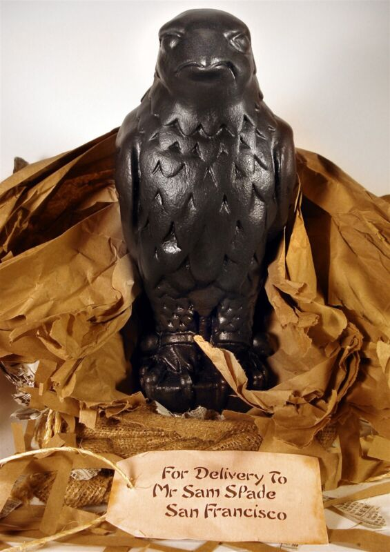 1941 Maltese Falcon Statue Screen Accurate Prop 20+ LB Lead by Haunted Studios™