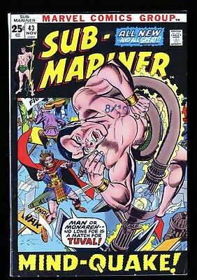 Sub-Mariner #43 VF- 7.5 Marvel Comics