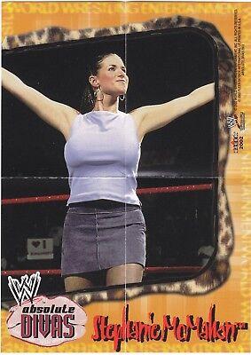 Stephanie Mcmahon Wwe Absolute Divas 5X7 Frameable Mini Poster 2002 Fleer
