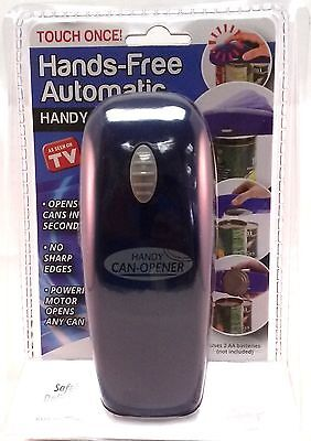 Handy Can Opener Automatic One Touch Electric ...