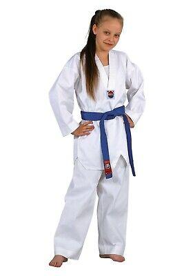 Dojo Line Taekwondo Dobok von Dan Dho. 120,130 od.140cm