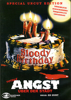Bloody Birthday , Creepers , DVD Region2 , Cover B , 100% uncut , totale Angst (Halloween 2 1981 Uncut Dvd)