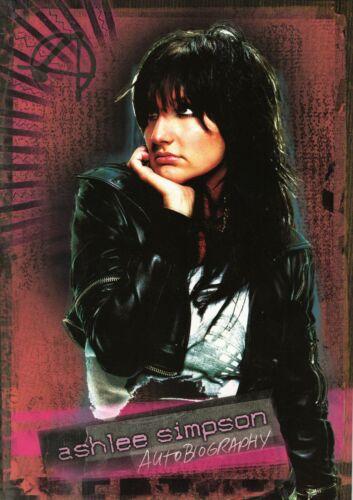 ASHLEY SIMPSON 2005 AUTOBIOGRAPHY TOUR CONCERT PROGRAM BOOK-NEAR MINT TO MINT