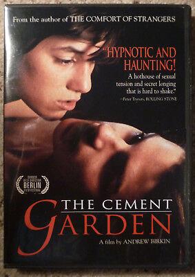 The CEMENT GARDEN (1992) Charlotte Gainsbourg Ian McEwan INCEST drama R1 DVD HTF