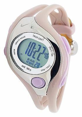 Nike Triax Swift Digital LX WR0090 501 New Metallic Doll Ladies Sports Watch