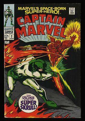 Captain Marvel #2 VG+ 4.5 Comic
