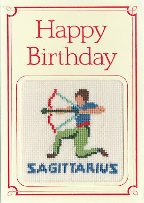 SIGNS OF THE ZODIAC - BIRTHDAY CARD - SAGITTARIUS - THE ARCHER - Signs Of Birthday