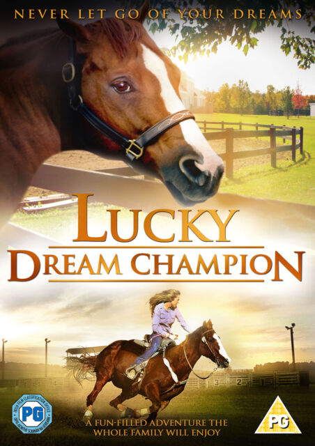 Lucky - Dream Champion (DVD) (NEW AND SEALED)