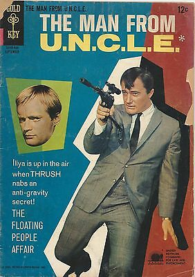 The Man From Uncle September 1966  8  Gold Key  Good Condition