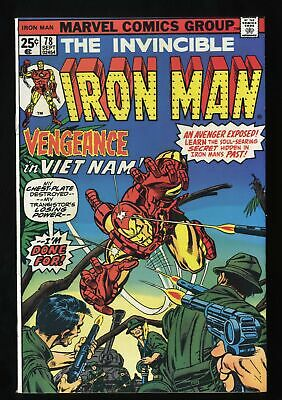 Iron Man #78 NM 9.4 Marvel Comics