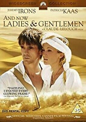 AND NOW LADIES AND GENTLEMEN DVD Jeremy Irons Patricia Kaas Original UK Release