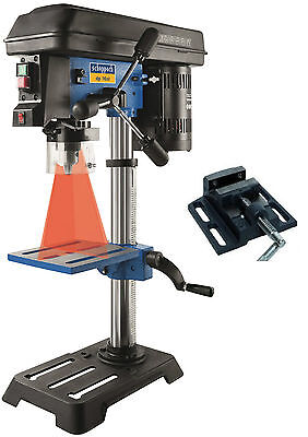 SCHEPPACH DP16 SL - Tisch Standbohrmaschine Bohrmaschine - Schraubstock & Laser