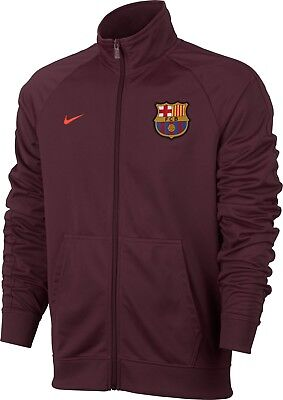 ac398822f6a Nike Barcelona FC Nike Core Trainer Jacket 869489-685 Size Small 2017 2018