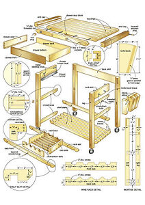 Carpenter Woodwork 20gb 5 Dvd 10001 Plans Blueprints Make