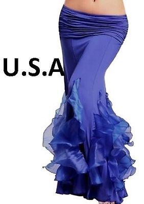 Belly Dance Costume Mermaid Skirt  Belly Dance Mermaid Skirt