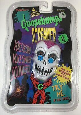 Goosebumps Screamer Skeleton Voice Recorder Changer Sound Effects Vintage 1996