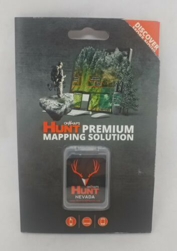 onXmaps HUNT GPS Chip for Garmin Units +1-Year Premium Membership, Nevada 208998