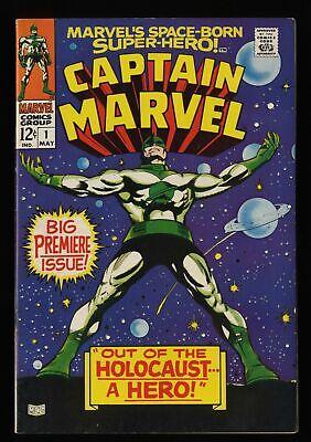 Captain Marvel #1 FN/VF 7.0