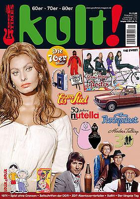GoodTimes kult #11 Sweet-Poster, Sophia Loren-Poster, Barbapapa, Lolek & Bolek