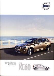 Volvo XC60 03 / 2015 catalogue brochure - <span itemprop='availableAtOrFrom'> Varsovie, Polska</span> - Volvo XC60 03 / 2015 catalogue brochure -  Varsovie, Polska