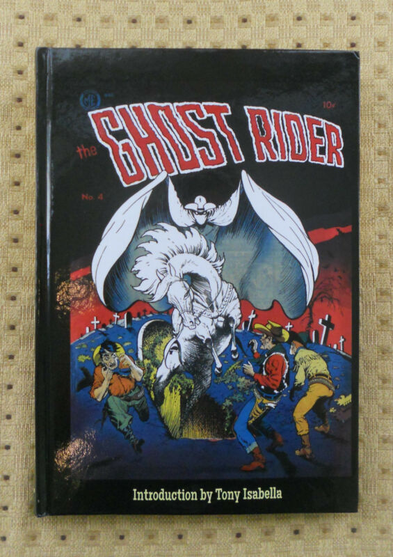 The Original Ghost Rider Vol 1 HC Hardcover, plus Frazetta Print