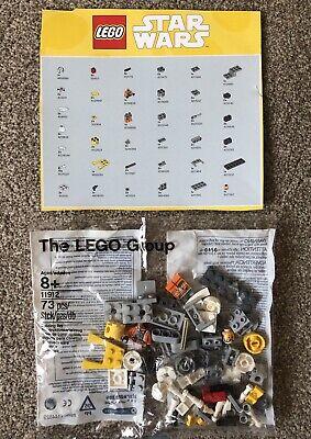 LEGO Star Wars 11912 Rebel Pilot Zin Minifigure Y-Wing Starfighter NEW Sealed