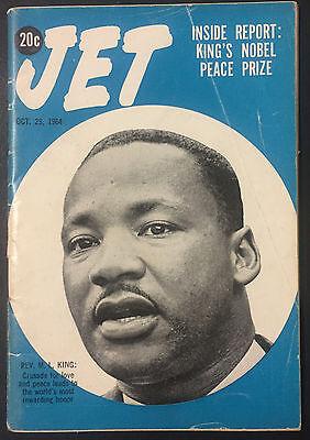 Vintage Jet Magazine October 29, 1964 MLK Martin Luther King, Jr. wins Nobel