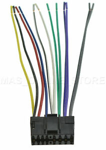 JVC KD-G230 KDG230 WIRE HARNESS *PAY TODAY SHIPS TODAY*