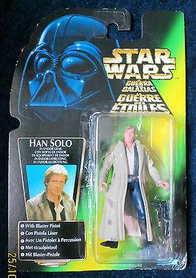 Star Wars Han Solo in Endor gear, Kenner 1996 Rare