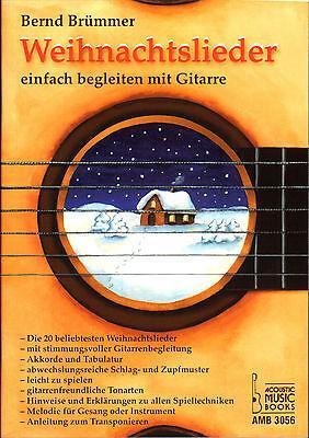 Weihnachtslieder einfach begleiten mit Gitarre - AMB3056 - 9783869470566