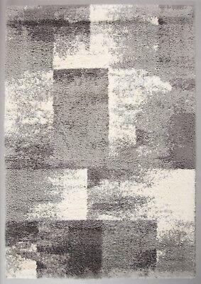 Teppich Teppiche Shaggy Soft Microfaser kuschelig flauschig creme beige grau ()