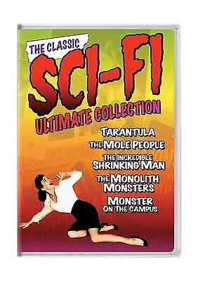 The Classic Sci-fi Ultimate Collection (Tarantula / The Mole Pe... Free Shipping](Ultimate Halloween Classical Music Collection)